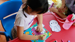 Paiting for kids at Sheraton Bandung
